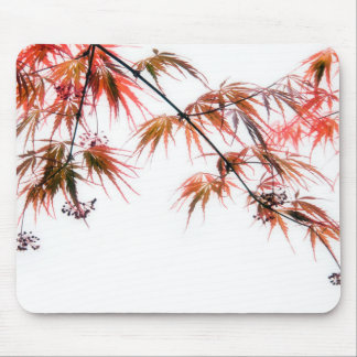 Japanese Red Maple Art Photography Mouse Pad