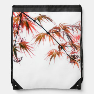 Japanese Red Maple Art Photography Backpack