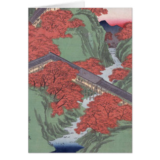 Japanese red maple greeting cards