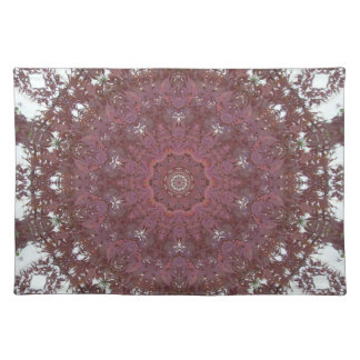 Japanese Red Maple Kaleidoscopic Image Placemat