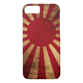 Japanese Rising Sun Flag (distressed) iPhone 8/7 Case