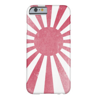 Japanese Rising Sun Flag (lightly distressed) Barely There iPhone 6 Case