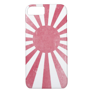 Japanese Rising Sun Flag (lightly distressed) iPhone 8/7 Case