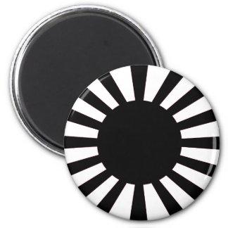Japanese Rising Sun Flag Magnet