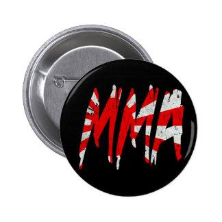 Japanese Rising Sun Flag MMA 2 Inch Round Button