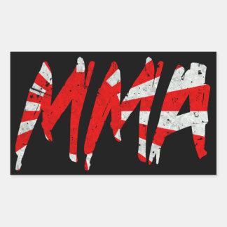 Japanese Rising Sun Flag MMA Sticker