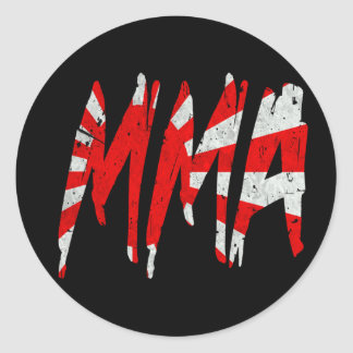Japanese Rising Sun Flag MMA Stickers