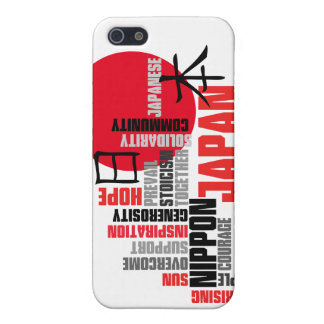 Japanese Rising Sun Hope and Solidarity Case For iPhone SE/5/5s