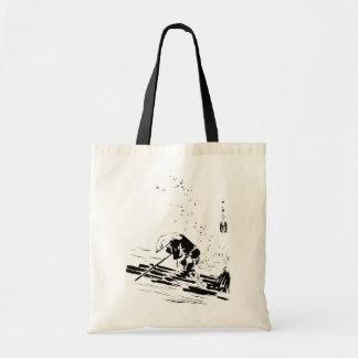 Japanese River Guide Tote Bag