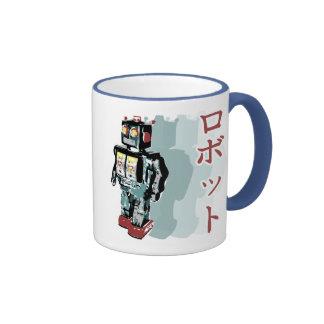 Japanese Robot 2 Ringer Coffee Mug