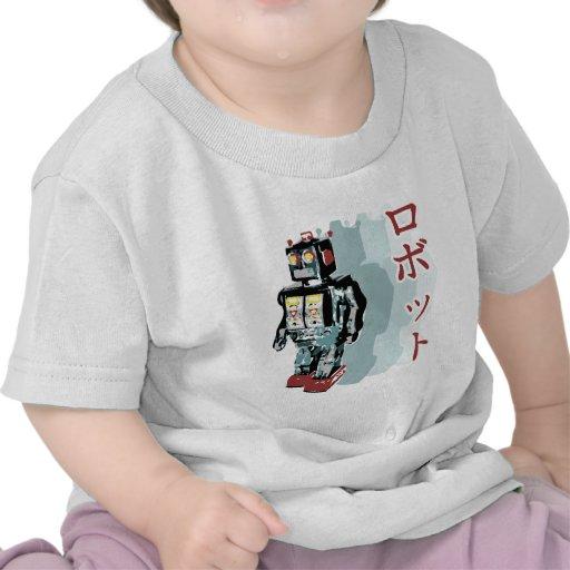 Japanese Robot Tee Shirt