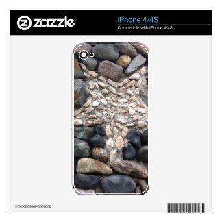 japanese rock formation decal for iPhone 4S