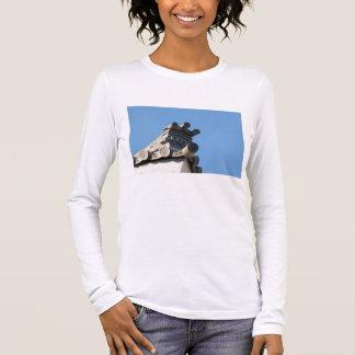 Japanese Rooftop Long Sleeve T-Shirt