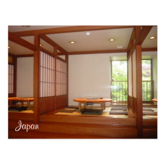 japanese rooms postcards