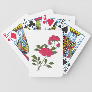 Japanese Roses Playing Cards