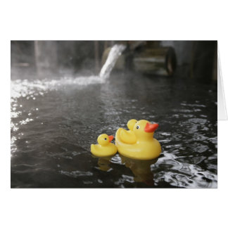 Japanese Rubber Duckies Card