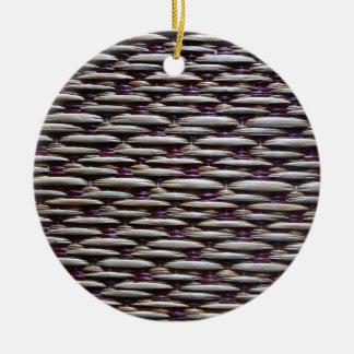 japanese rush carpet ceramic ornament
