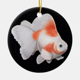 Japanese Ryukin Fantail Goldfish Ornament