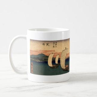 Japanese Sailing Ships Coffee Mug