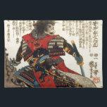 """Japanese Samurai Cool Oriental Classic Warrior Art Placemat<br><div class=""""desc"""">Japanese Samurai Cool Oriental Classic Warrior Art</div>"""