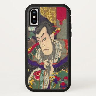 Japanese Samurai Kabuki Chikanobu iPhone X Case