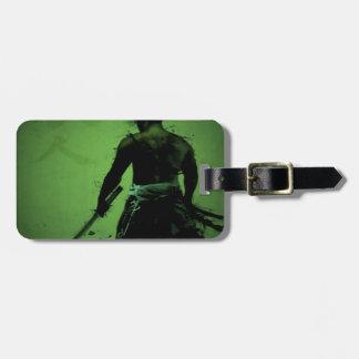 Japanese Samurai Luggage Tag
