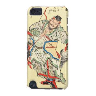 Japanese Samurai Warrior sketch tattoo Hokusai iPod Touch 5G Cover