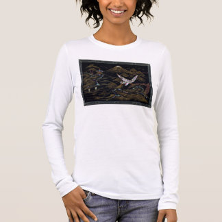 Japanese Scene womens fitted Long Sleeve T-Shirt