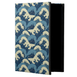 Japanese sea waves pattern case for iPad air