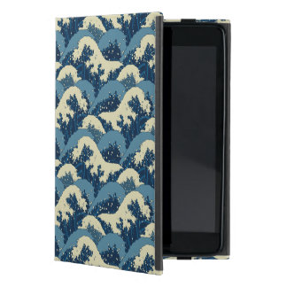 Japanese sea waves pattern case for iPad mini