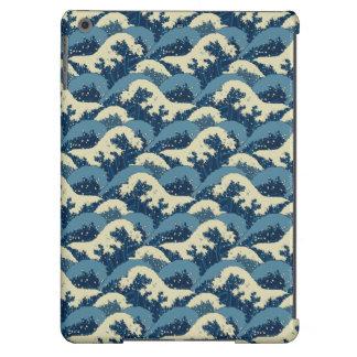 Japanese sea waves pattern iPad air cover