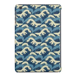 Japanese sea waves pattern iPad mini retina case