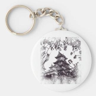 Japanese Serenity Keychain