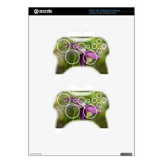 Japanese Serenity Symbol and Columbine Blossom Xbox 360 Controller Skins