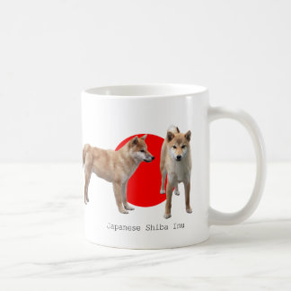 """Japanese Shiba Inu"" Classic White Coffee Mug"
