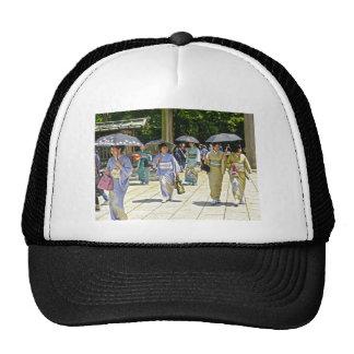Japanese Shrine Festival Trucker Hat
