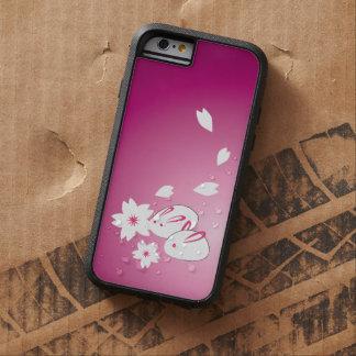 Japanese Snow Rabbits and Sakura Tough Xtreme iPhone 6 Case