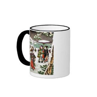 Japanese Snowscape Coffee Mug