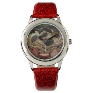 Japanese Spaghetti & Strawberry Cake Watches
