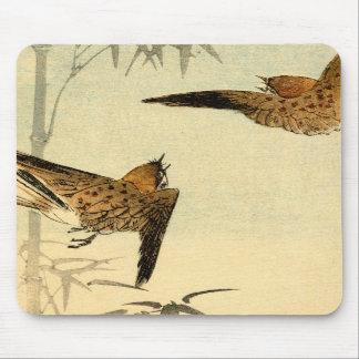 Japanese Sparrows no.1 Mousepad