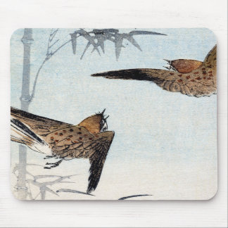 Japanese Sparrows no.2 Mousepads