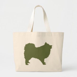 Japanese Spitz Large Tote Bag