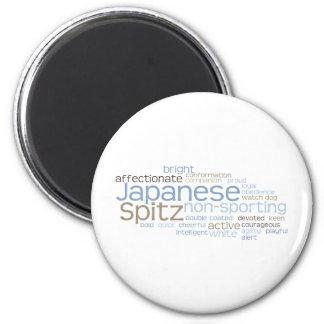 Japanese Spitz Magnet