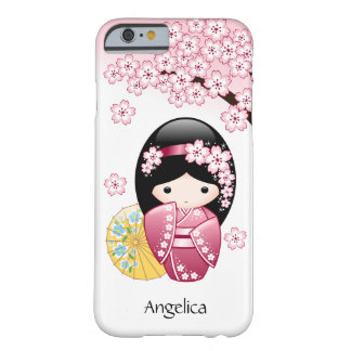 Japanese Spring Kokeshi Doll Barely There iPhone 6 Case