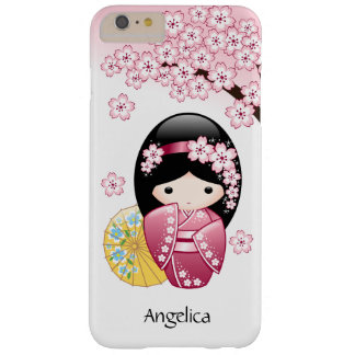 Japanese Spring Kokeshi Doll Barely There iPhone 6 Plus Case