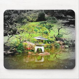 Japanese Stone Lantern Mouse Mat