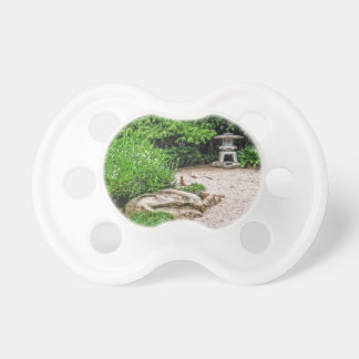 Japanese Stone Lantern Baby Pacifier