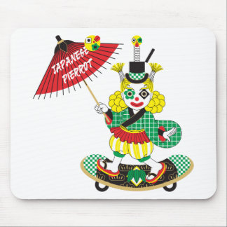 Japanese-style clown colorful (JAPANESE STYLE Mouse Pad