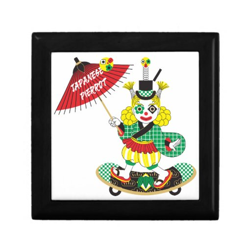Japanese style clown colorful japanese style pier for Japanese inspired gifts