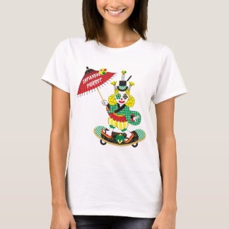 Japanese-style clown colorful (JAPANESE STYLE T-Shirt